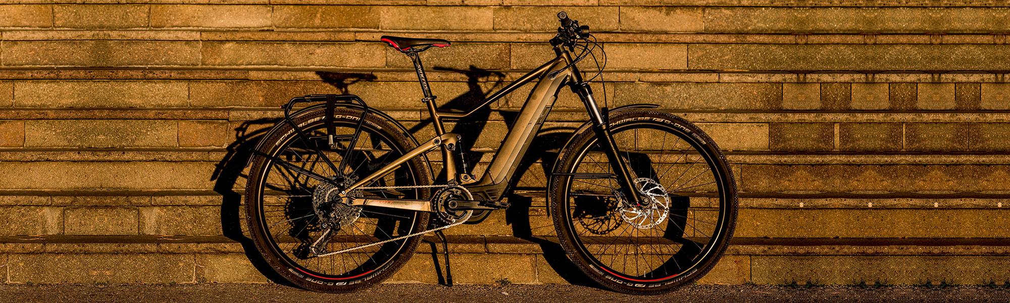 Zweirad-Fuhr-E-Bike-Ebike-Testen